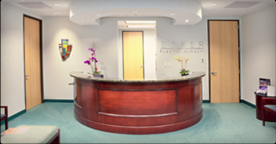 Welcome Desk at Baker Plastic Surgery